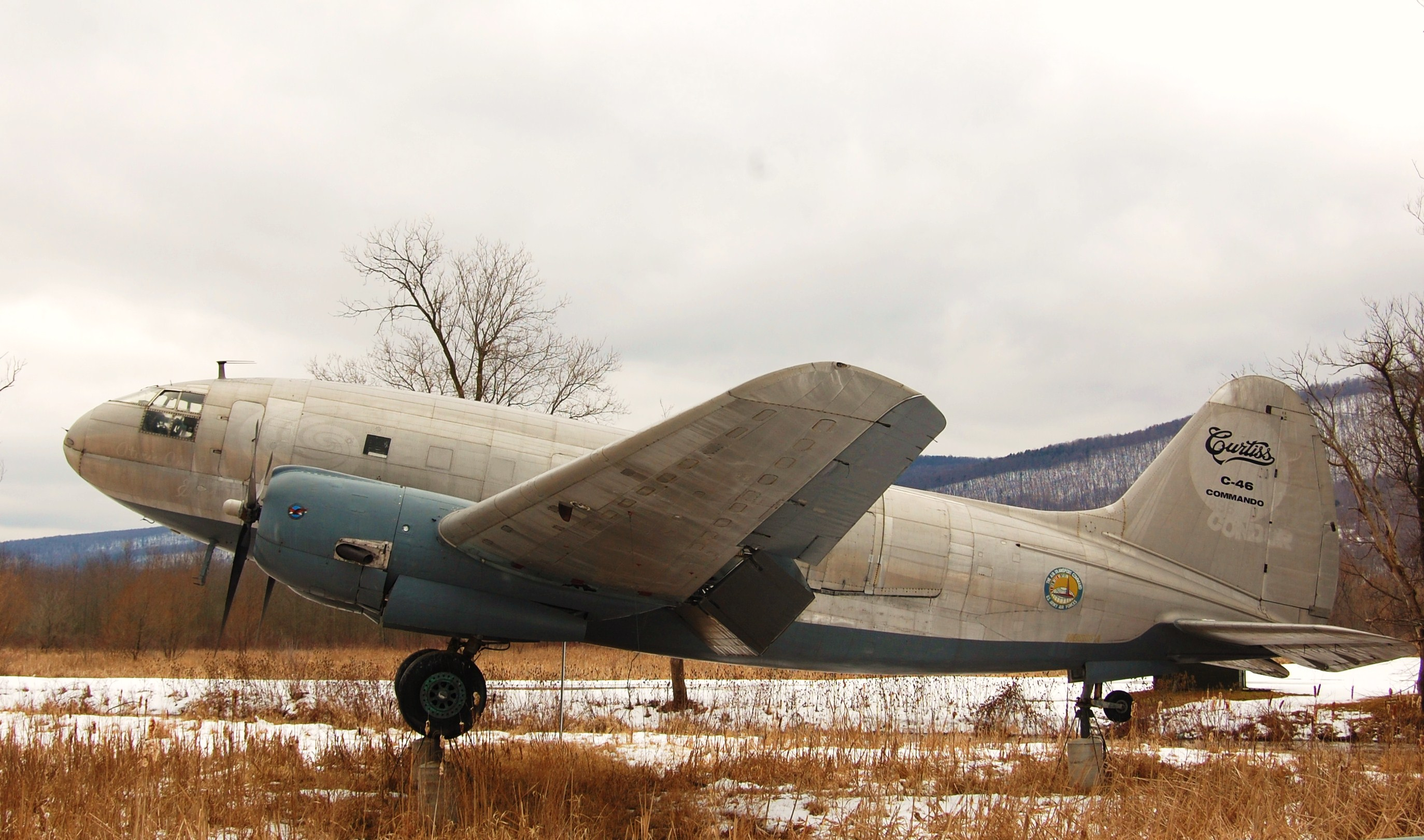 Curtiss Wright C 46 Commando Citius Altius Fortius