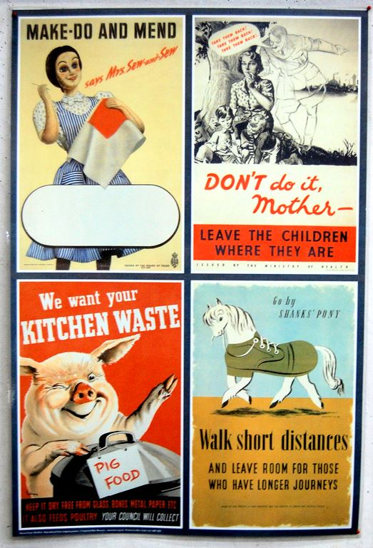 British propaganda on the Home Front – WW2 posters ...